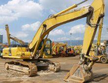 二手小松350-8挖掘机