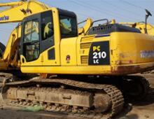 二手小松210-8挖掘機