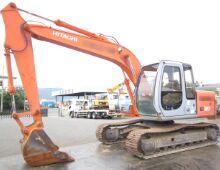 二手日立EX120挖掘機