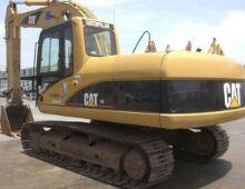 二手卡特320C挖掘機