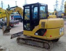 二手卡特306挖掘機