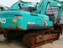 二手神鋼250-8挖掘機