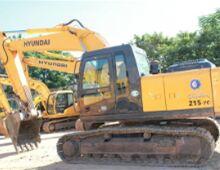 二手現代R215-7挖掘機
