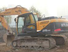二手現代215-9C挖掘機