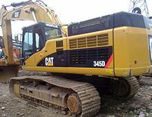 二手卡特345D挖掘機