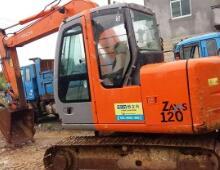 二手日立ZX120挖掘機