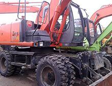 二手日立ZX130W挖掘機