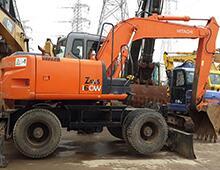 二手日立ZX160W挖掘機