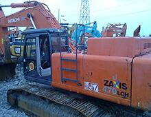 二手日立ZX470挖掘機
