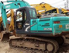 二手神钢200-8挖掘机