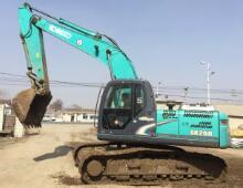二手神鋼210-8挖掘機