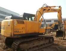 二手现代150-7挖掘机