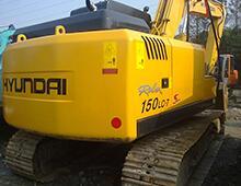 二手現代150-7挖掘機