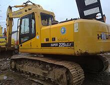 二手現代225-7挖掘機