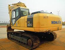 二手小松220-7挖掘機