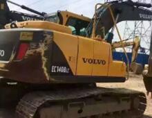 二手沃爾沃140挖掘機