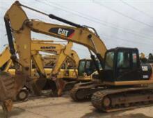 二手卡特326D挖掘机