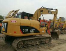 二手卡特312D挖掘機