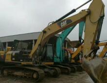 二手卡特329D挖掘機