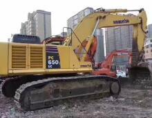 二手小松PC650LC-8挖掘机