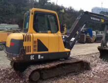 二手沃尔沃55挖掘机