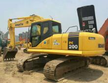 二手小松PC200-7挖掘机