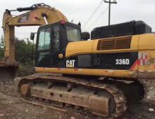 二手卡特336D挖掘机