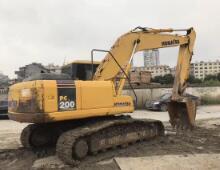 二手小松PC200-7挖掘機