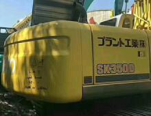 二手大黃蜂神鋼350挖掘機