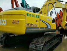 二手神鋼SK210大黃蜂挖掘機