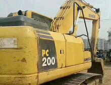 二手小松200-8挖掘机