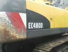 二手沃尔沃EC480D挖掘机