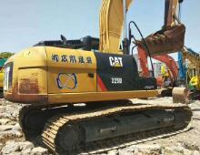 二手卡特325D挖掘機