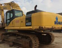 二手小松PC450-8挖掘機