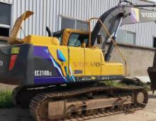 二手沃爾沃210挖掘機