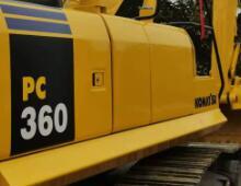 二手小松PC360-8挖掘機